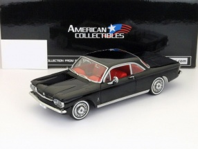Chevrolet Corvair Coupe year 1963 black 1:18 SunStar