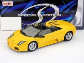 Lamborghini Murcielago Roadster yelow 1:18 Maisto