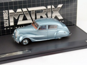 Austin A135 Princess II Baujahr 1950 blau metallic 1:43 Matrix