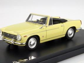 Innocenti 950 S Spider Year 1962 yellow 1:43 Matrix
