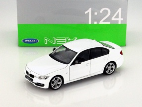 BMW 335i white 1:24 Welly
