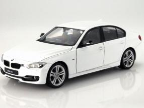 BMW 335i white 1:24 Welly