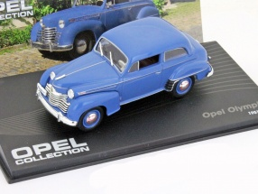 Opel Olympia year 1951 blue 1:43 Ixo Altaya