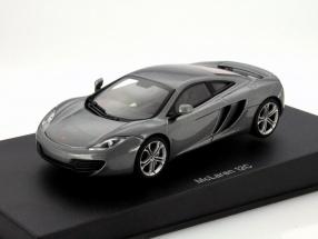 McLaren MP4-12C Year 2011 silver metallic 1:43 AUTOart