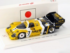 Porsche 956 #7 Winner WEC Japan 1000km Fuji 1986 1:43 Spark