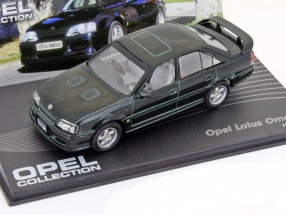 Opel Lotus Omega Baujahr 1989 dunkelgrün 1:43 Ixo Altaya