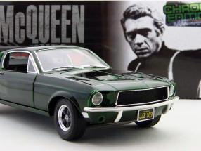 Ford Mustang GT Bullitt Edition Chrome St. McQueen 1968 1:18 GL