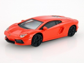 Lamborghini Aventador LP700-4 Orange 1:43 Bburago