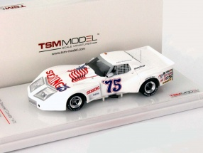 Chevrolet Corvette #75 24h Daytona 1975 Greenwood, Muzzin, Shafer 1:43 TrueScale