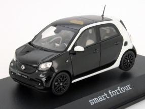 Smart forfour W453 white / black 1:43 Norev