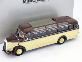 Mecedes Benz O 3500 Bus Sedar Baujahr 1950 1:43 Minichamps