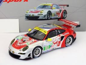 Porsche 911 (997) RSR #80 24h LeMans 2012 Bergmeister, Long, Holzer 1:18 Spark