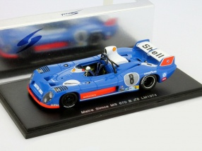 Matra Simca MS 670 #8 24h LeMans 1974 Dolhem, Jaussaud, Wollek 1:43 Spark