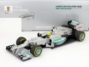 N. Rosberg Mercedes W03 AMG Petronas Formel 1 2012 1:18 Minichamps