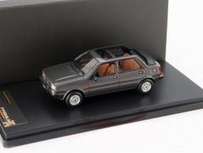 Lancia Delta Selene Semi Convertible year 1983 dark gray 1:43 Premium X