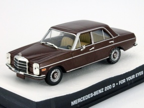 Mercedes-Benz 200 D James Bond For your eyes only red 1:43 Altaya