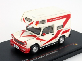 Trabant 601 Year 1980 Caravan white / red 1:43 Ixo IST