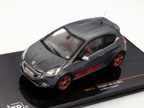 Peugeot 208 GTi Year of construction 2013 LeMans Edition dark gray 1:43 Ixo