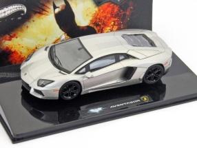 Lamborghini Aventador The Dark Knight Rises silber metallic 1:43 HotWheels Elite
