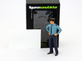 Flic French policeman figure shows 1:18 manufactory