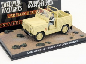 Land Rover Lightweight Car James Bond movie The Living Daylights beige 1:43 Ixo