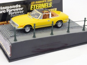 Triumph Stag Car James Bond movie Diamonds Are Forever yellow 1:43 Ixo