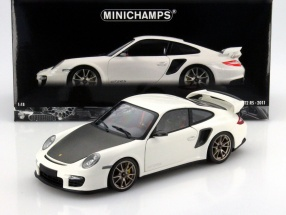 Porsche 911 (997 II) GT2 RS Year of construction 2011 white 1:18 Minichamps