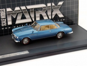 Alvis 3-Litre Super Graber Coupe Year of construction 1967 blue metallic 1:43 Matrix