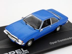 Opel Commodore B GS/E Baujahr 1972-1977 blau 1:43 Altaya