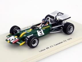 Graham Hill Lotus 69 #3 Castellet Formula 2 1970 1:43 Spark
