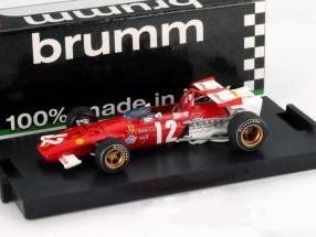 Jacky Ickx Ferrari 312 B #12 Formel 1 Austria GP 1970 1:43 Brumm