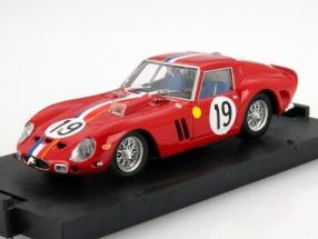 Ferrari 250 GTO #19 2nd 24h LeMans 1962 Noblet, Guichet 1:43 Brumm