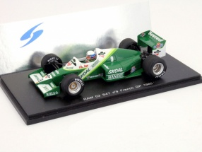 M. Winkelhock RAM03 S4T #9 Formel 1 1985 GP Frankreich 1:43 Spark