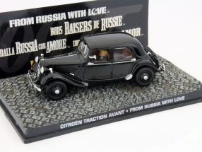 Citroen Traction Avant car James Bond movie From Russia with Love 1:43 Ixo