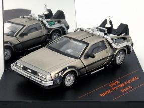 DLlorean DMC-12 Back to the Future Movie Car Part II 1:43 Vitesse