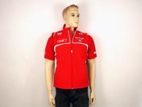 Bianchi / Chilton Marussia Team Weste Formel 1 2014 rot / weiß Größe L