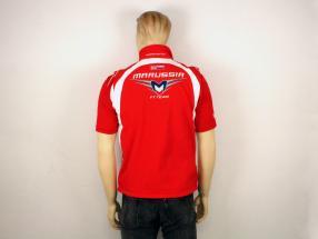 Bianchi / Chilton Marussia Team Weste Formel 1 2014 rot / weiß Größe XL