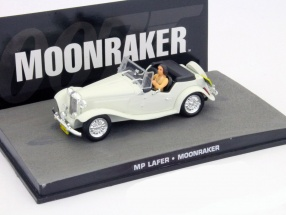MP Lafer James Bond Movie Car Moonraker white 1:43 Ixo