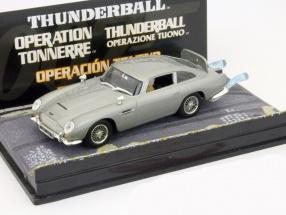 Aston Martin DB5 James Bond Movie Car Feuerball grau 1:43 Ixo