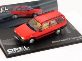 Opel Kadett E Caravan Year 1984 red 1:43 Altaya