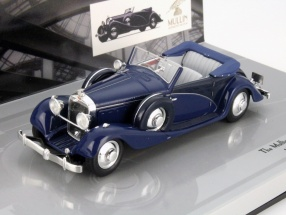 Hispano Suiza J12 Cabriolet Year 1935 blue 1:43 Minichamps