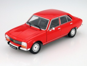 Peugeot 504 Baujahr 1975 rot 1:18 Welly