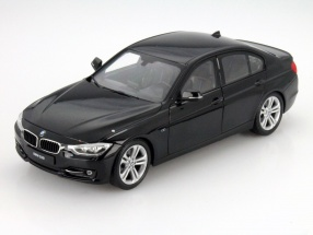 BMW 335i (F30) Year 2010 black 1:18 Welly