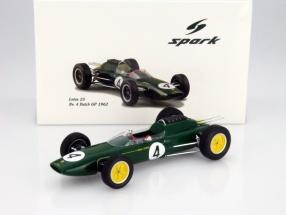 Jim Clark Lotus 25 #4 Niederlande GP Formel 1 1962 1:18 Spark