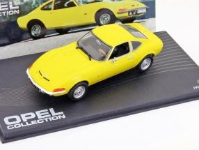 Opel GT Baujahr 1968 gelb 1:43 Ixo Altaya
