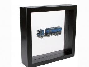 Schweberahmen schwarz 100 x 100 mm SAFE