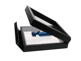 Floating Boxes black 100 x 100 mm SAFE