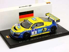 Audi R8 LMS Ultra #3 Winner 24h Nürburgring 2012 1:43 Spark