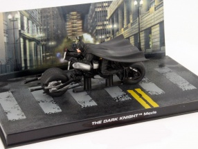 Batman  Batpod from the Movie The Dark Knight 2008 black 1:43 Ixo Altaya