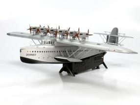 Dornier Do X Flugzeug Baujahr 1929 silber 1:72 Schuco